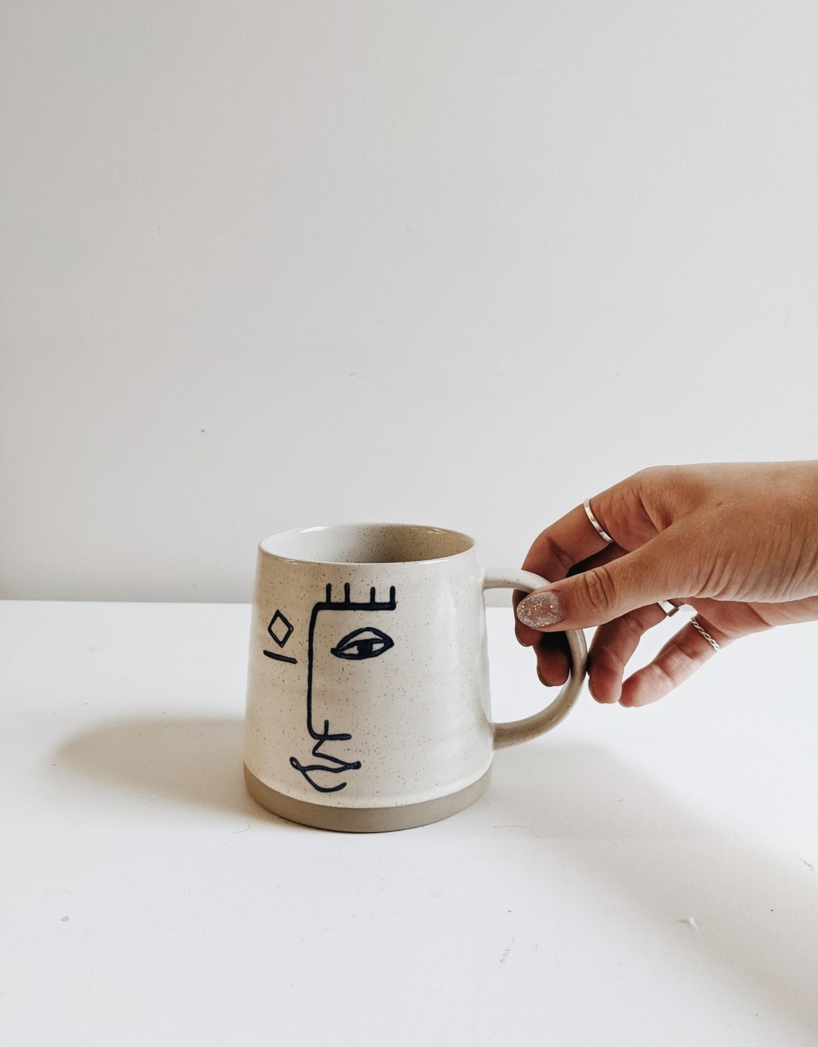 Modern Face Mug