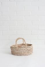 Round Open Weave Basket