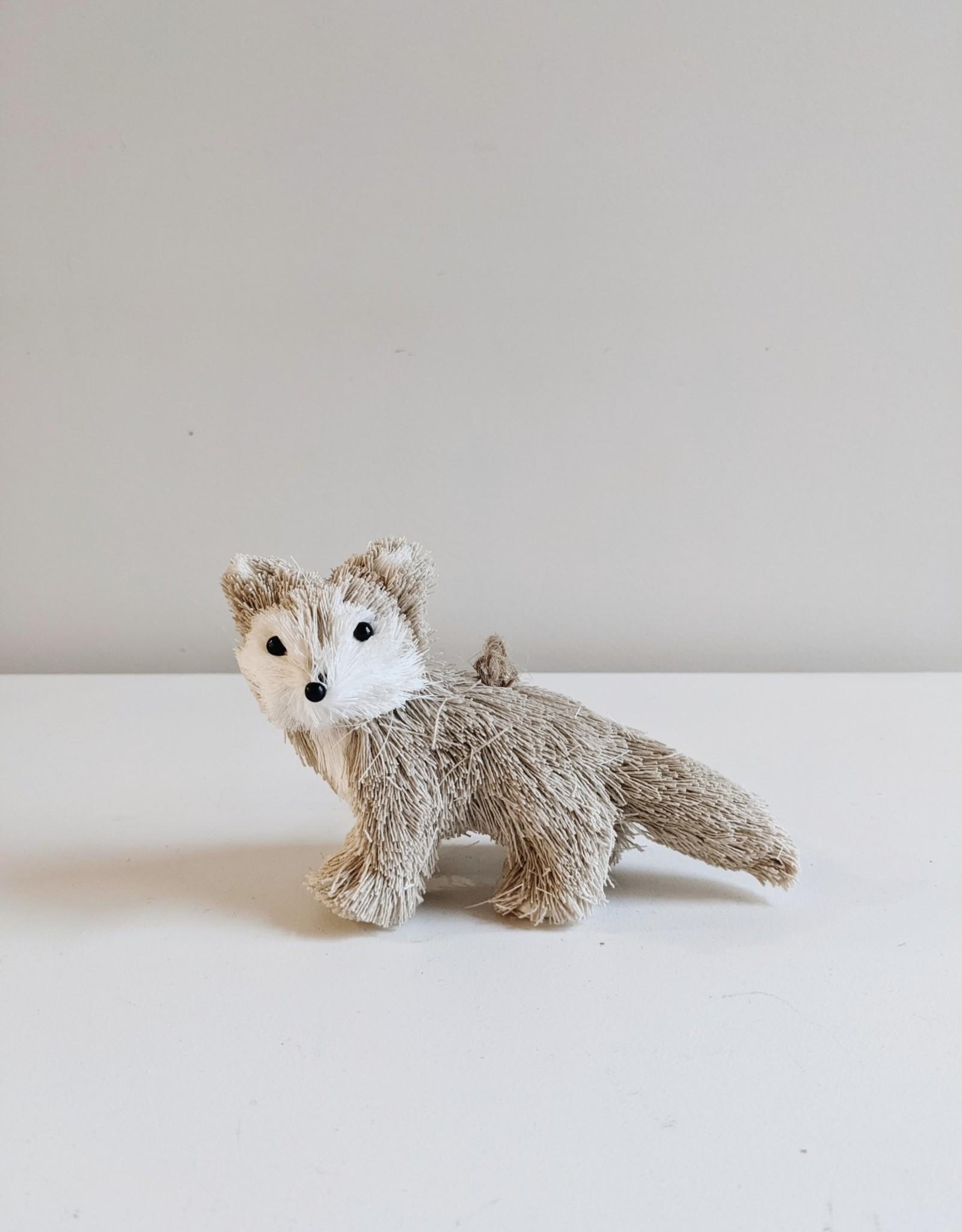 Sisal Fox Ornament