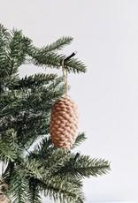 Resin Pinecone Ornament