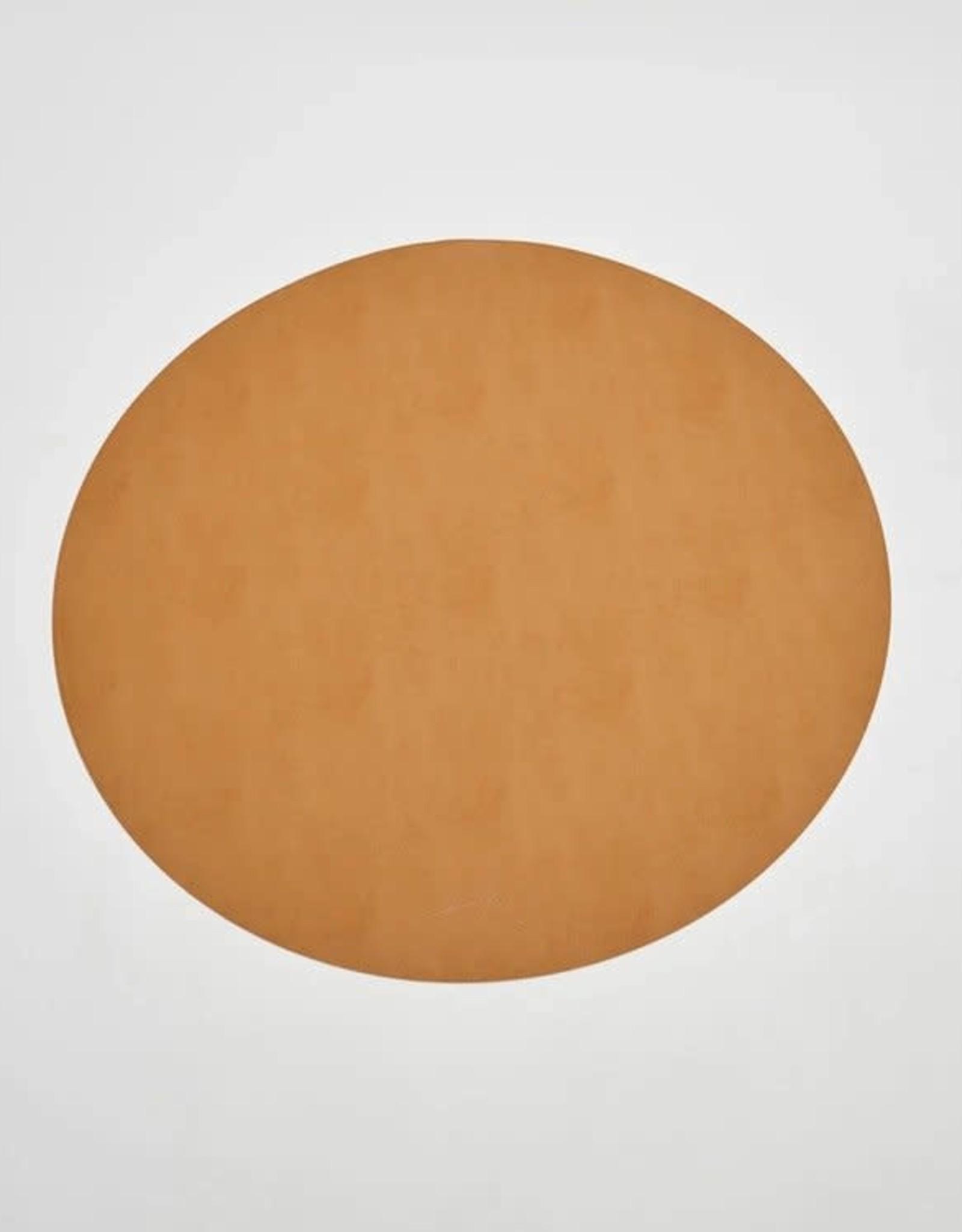 Umana Round Leather Mat