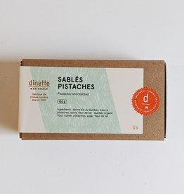 Dinette Nationale Butter Shortbread - Pistachio