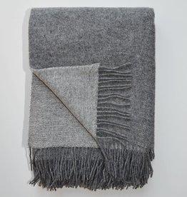 Linen Way Throw Trafalgar - Grey/Light Grey