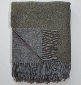 Linen Way Throw Trafalgar - Grey/Khaki