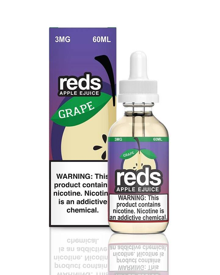 7DAZE Reds Apple 60ml (MSRP $24.99)