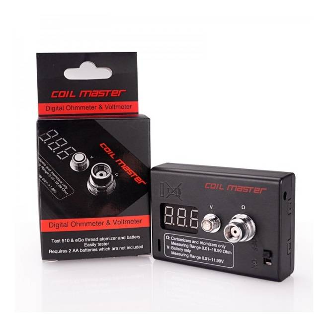 Coilmaster Coil Master Ohm Meter (MSRP $24.99)