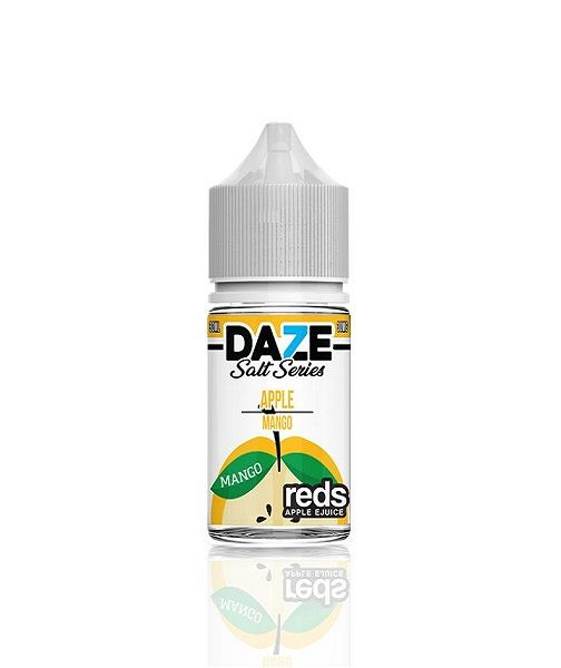 7DAZE Red Apple Salt Series 30ml (MSRP $19.99)