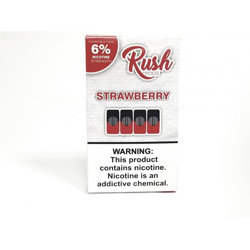 Rush Pods 6% 4Pack (MSRP $14.99)