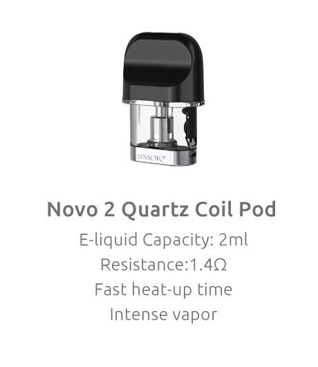 Smok Smok NOVO 2 Refillable Pods 3Pack (MSRP $19.99)
