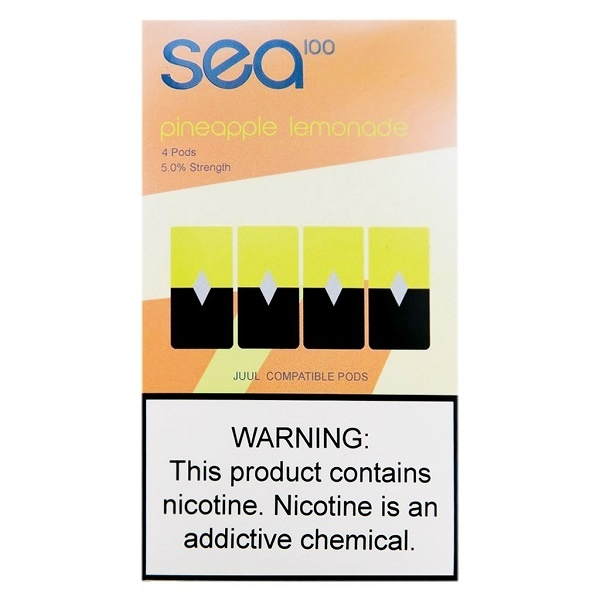 Sea Sea Salt Nic Pods (MSRP $14.99)