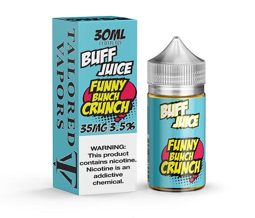 tailored Buff Juice Salt 30ml (MSRP $24.00)