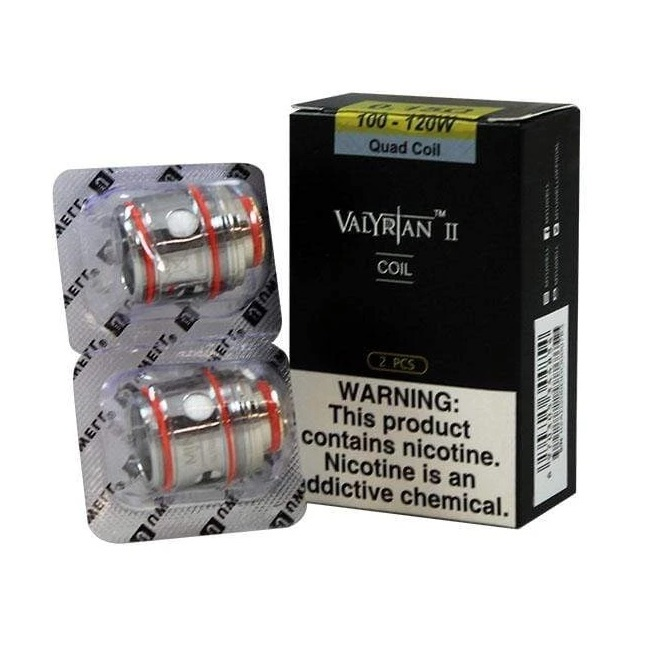 Uwell Valyrian 2 Mesh Coils 2Pack (MSRP $16.99)