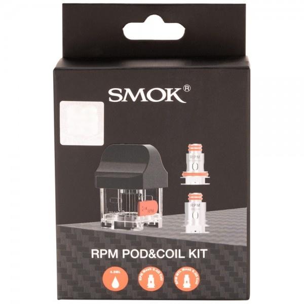 Smok Smok RPM40 Pod and Coil Kit (MSRP $ 12.99)