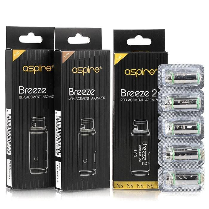 Aspire Aspire Breeze 5pk Coils (MSRP $16.99)