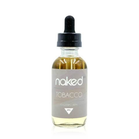 Naked Naked 100 Tobacco 60ml (MSRP $24.99)