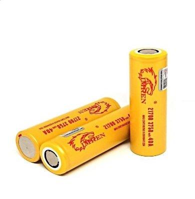 IMREN IMREN 21700 3750mah Battery 40A (MSRP 15.99)