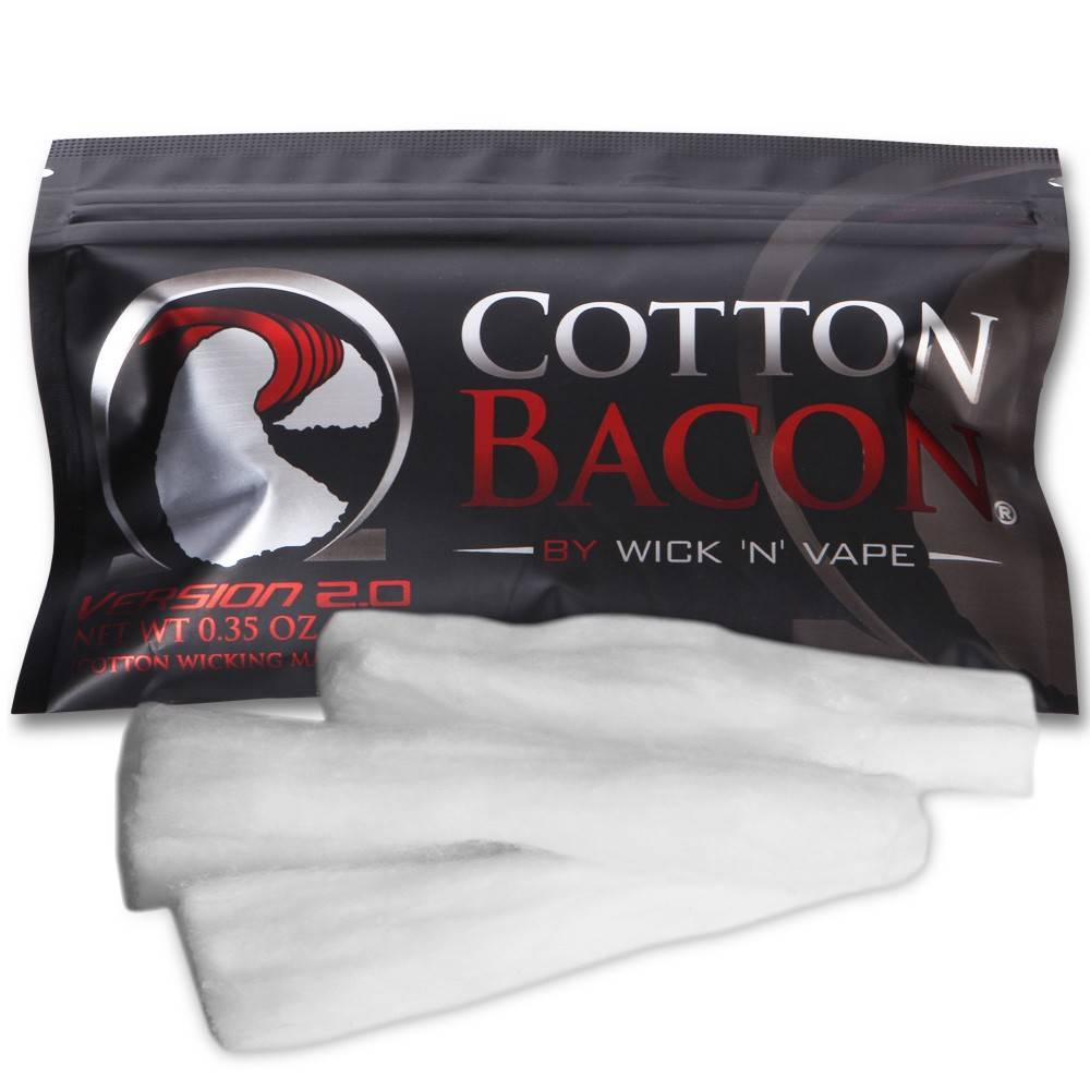 Wick N Vape Cotton Bacon V2 Pack (MSRP $6.00)