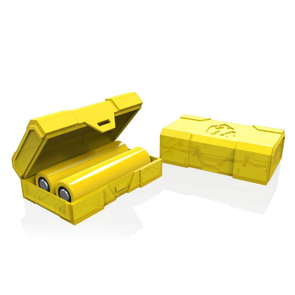 Chubby Gorilla Chubby Gorilla Dual 18650 Battery Case (MSRP $1.95)