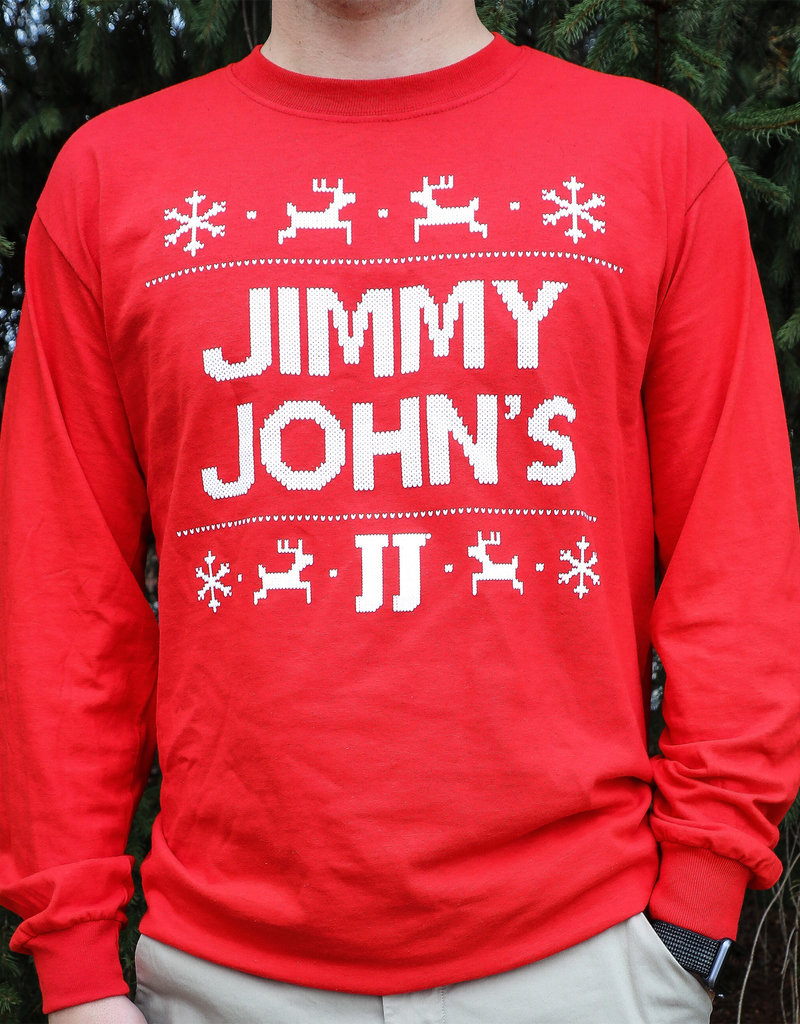 Jimmy John's Eat, Drink, and Be Freaky Christmas Tee