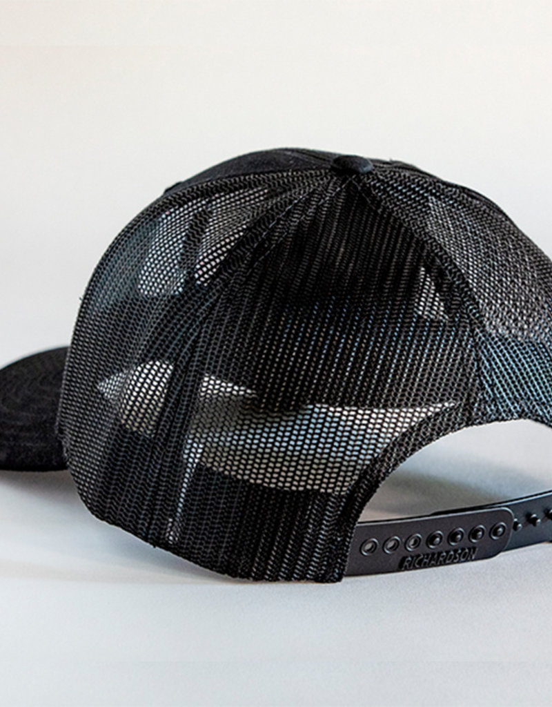 Richardson JJ Black Snapback Hat
