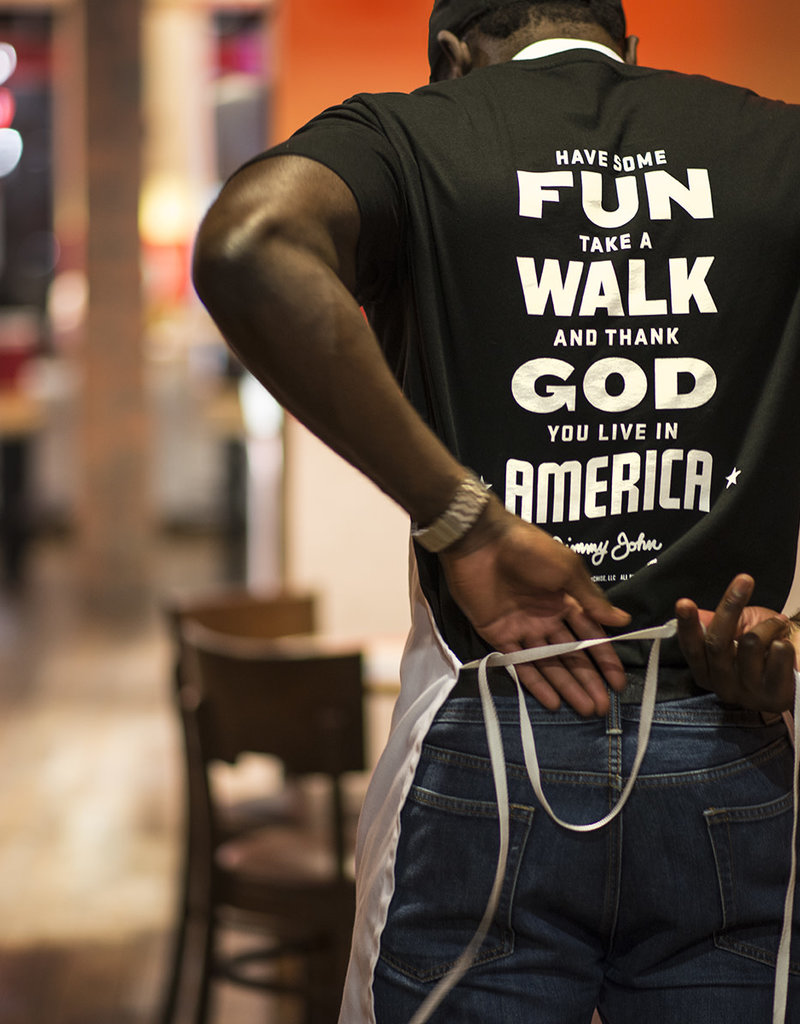 Fun. Walk. God. America. Tee