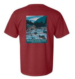 NOC NOC Vintage Poster Comfort Short Sleeve T-shirt