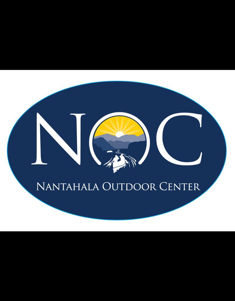 NOC NOC Logo Oval Sticker