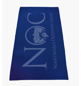 NOC NOC Logo Towel - ROYAL BLUE