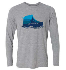 NOC NOC Hiking Boot Wicking Sport Long Sleeve T-shirt