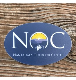 NOC NOC Logo Oval Sticker