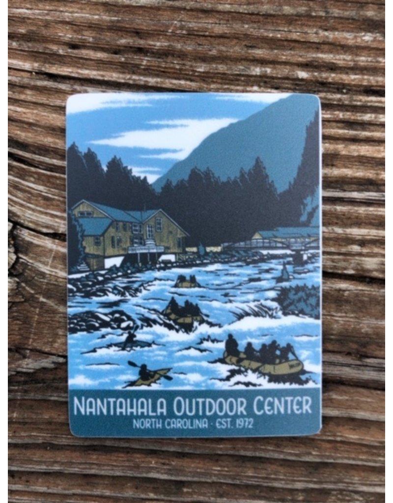 NOC NOC WPA Poster Matte Sticker