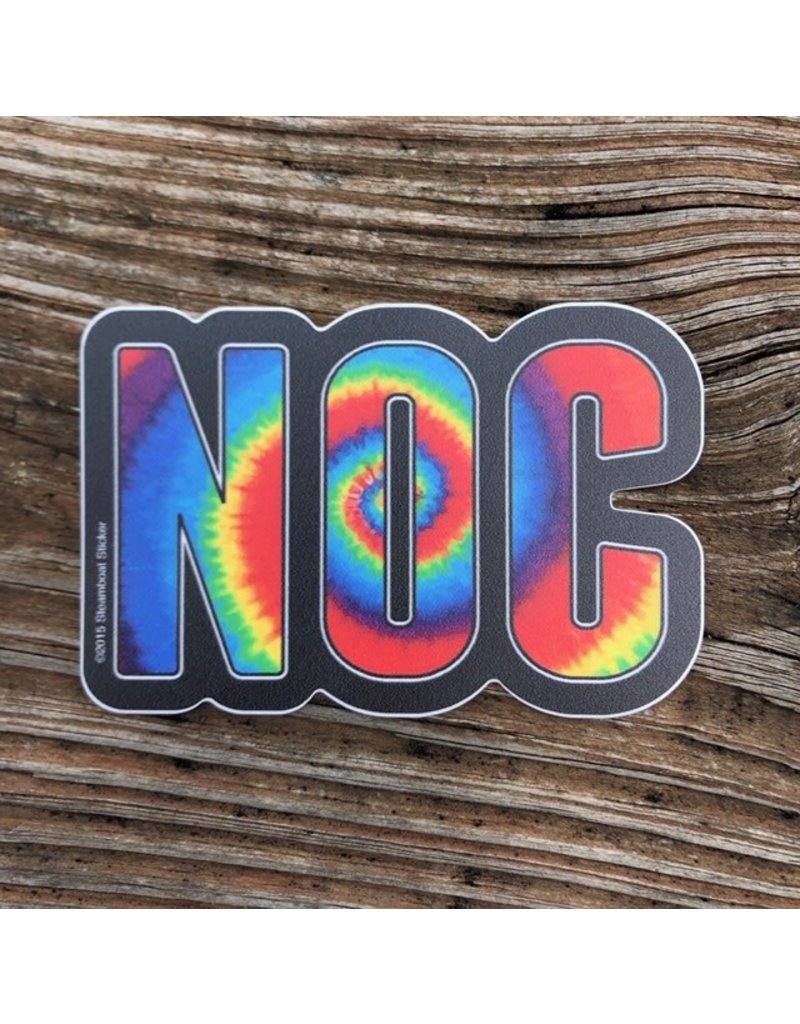 NOC Steamboat Stickers - NOC Dyed Tall