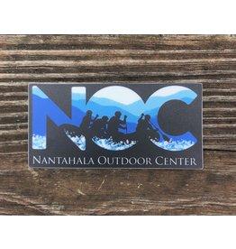 NOC Blue 84 - NOC Rafting Silhouette Sticker