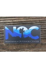 NOC Blue 84 - NOC Hiking Silhouette Sticker