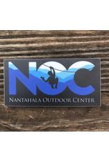 NOC Blue 84 - NOC Zipline Silhouette Sticker