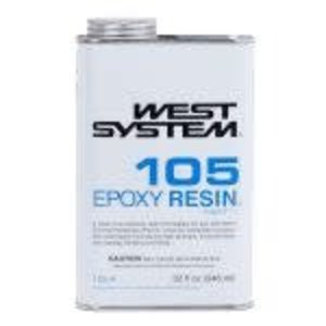 West Systems West System - 105-A - Resin - 1 qt