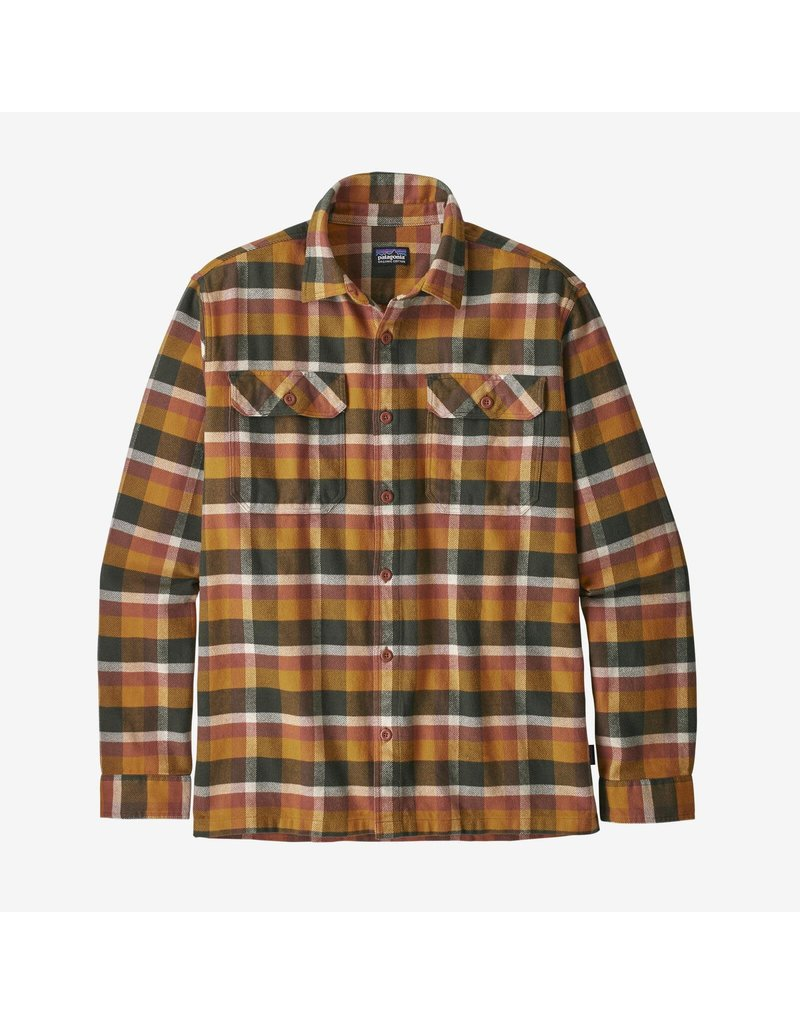Patagonia Men's Long Sleeve Fjord Flannel Shirt
