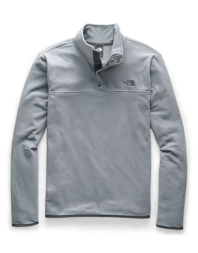 North Face Men's TKA Glacier Snap-Neck Pullover