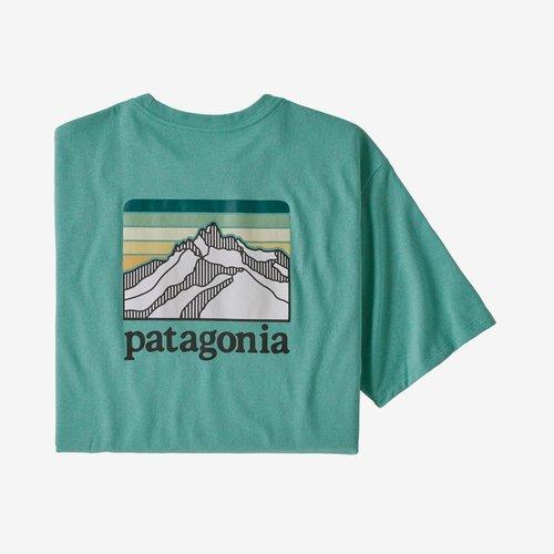 Patagonia Mens Line Logo Ridge Pocket Responsibili-Tee