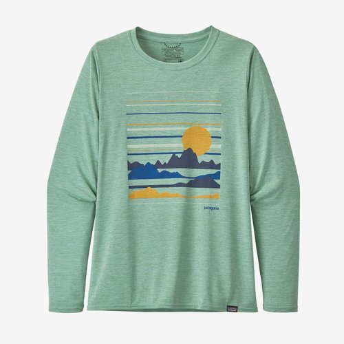 Patagonia Women's Long Sleeve Capilene Cool Daily Graphic Shirt