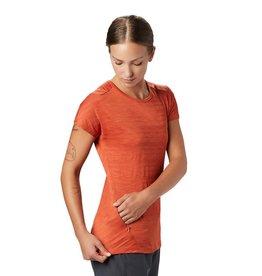 Mountain Hardwear Womens Mighty Stripe™ Short Sleeve T