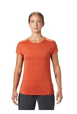 Mountain Hardwear Womens Mighty Stripe™ Short Sleeve T