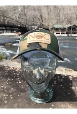 NOC Printed Trucker NOC Leather Patch Trucker