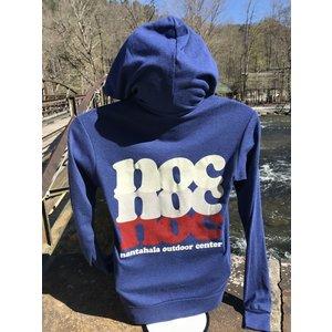 NOC NOC On Repeat Full Zip Triblend Hoody