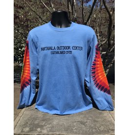 NOC Nantahala River FLOWER CHILD Elbow Tie Dye