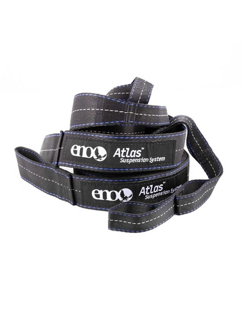 ENO Hammocks Atlas Suspension Strap Black/Royal