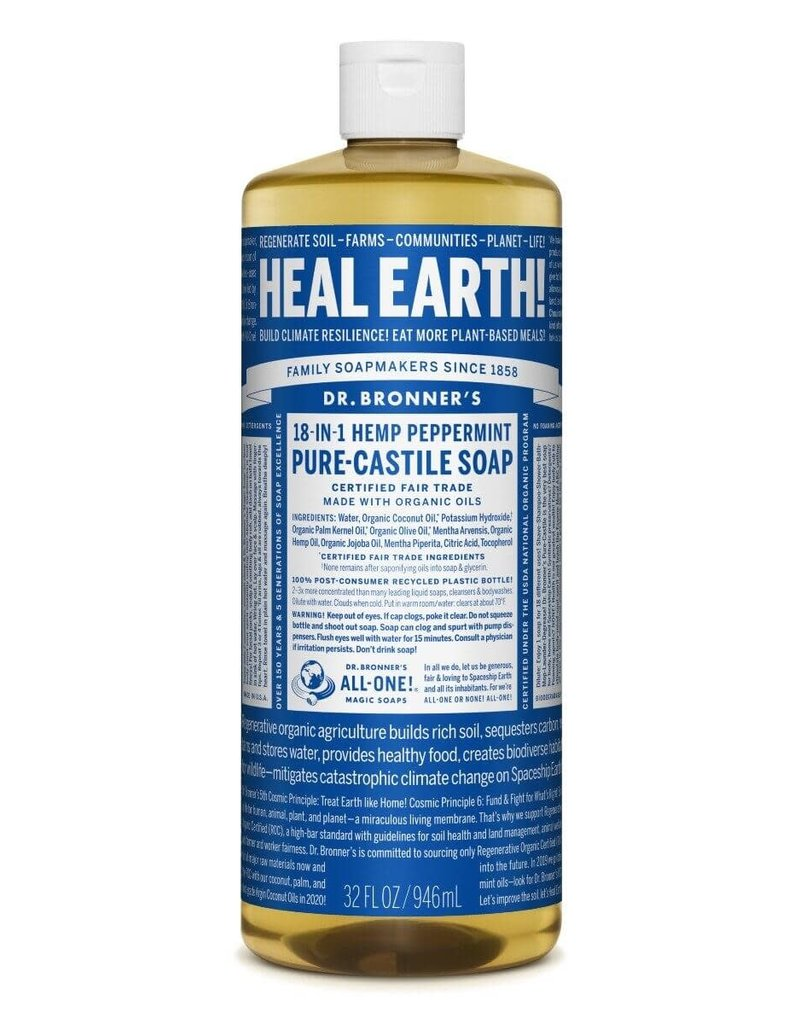 Liberty Mountain Dr. Bronner's Soap Peppermint 4oz