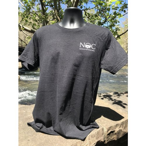 NOC Nantahala River Map Short Sleeve Tee