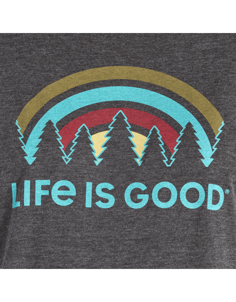 Life is Good Women's Outdoor Vibes Ringer Cool Tee