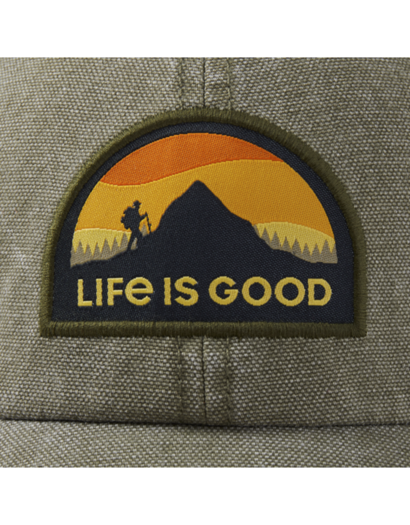 Life is Good Life is Good Mountain Hike Sunworn Chill Cap